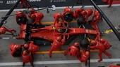 Pirelli, GP Singapore: solo un set di gomme dure per la Ferrari