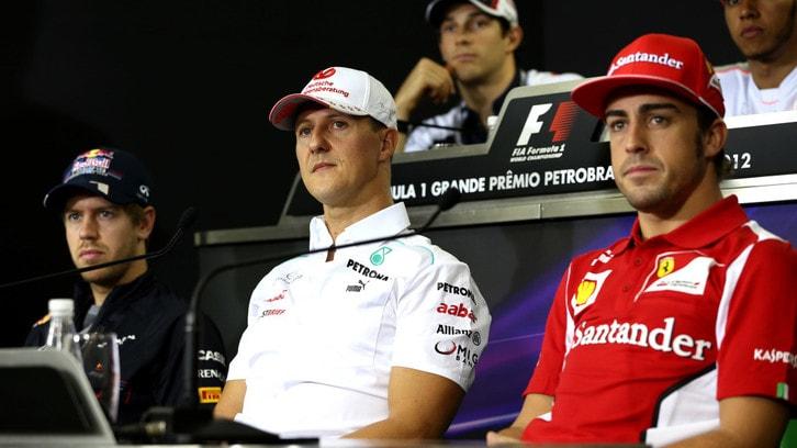Michael Schumacher, a Parigi riceve la visita di Todt