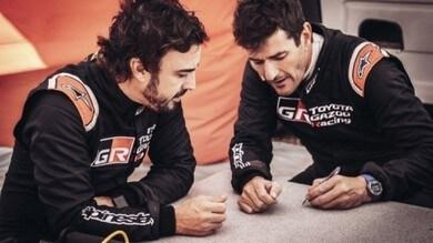 Alonso e Coma insieme alla 400 di Lichtenburg, poi alla Dakar