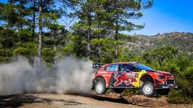WRC, Rally Turchia: Lappi leader
