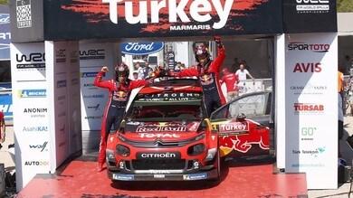 WRC, Rally Turchia: è doppietta Citroen