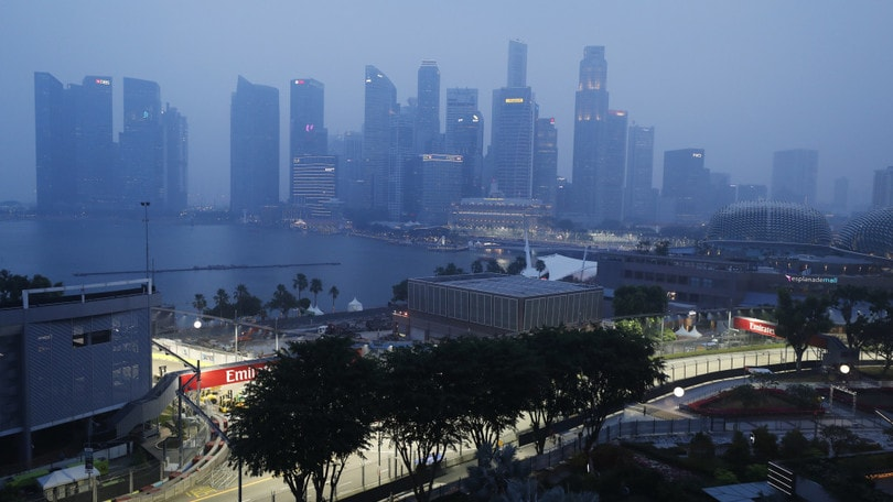 Formula 1, GP Singapore. Hamilton: