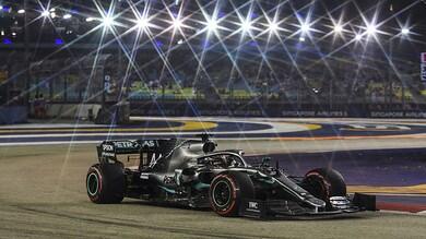 GP Singapore F1, analisi prove: tornano a contare le curve