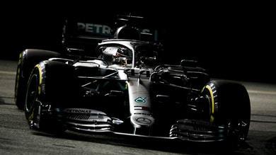 GP Singapore F1, Hamilton: