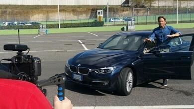 Jimmy Ghione prova per noi la nuova BMW 330e