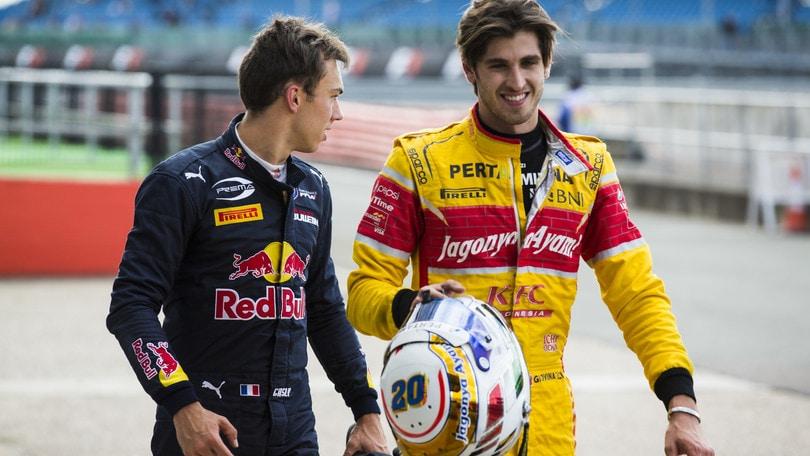 GP2 Silverstone, storica doppietta con Gasly e Giovinazzi. - Autosprint