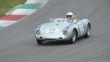 Porsche Club Interseries, in pista una rara 550 RS Spyder