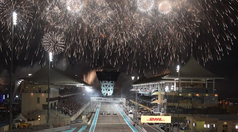 Festeggiamenti di fine mondiale di Formula 1. Foto: sutton-images.com