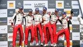 WRC, Rally di Germania: Toyota, è tripletta