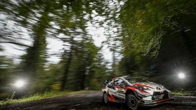 WRC, Rally Galles: Tanak passa in testa