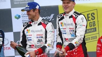 WRC, Rally del Galles: Tanak vince e punta al titolo