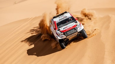 Alonso, incidente e ritiro in Marocco tradito dal roadbook