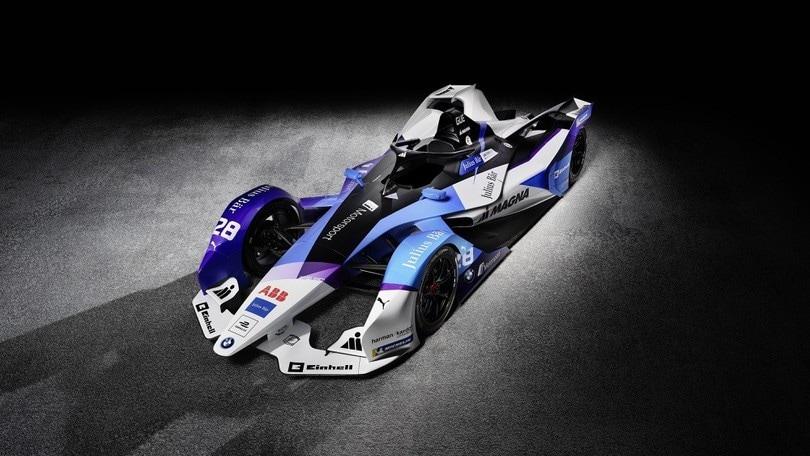 BMW iFE.20 Formula E:foto