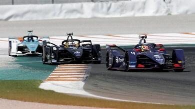 Test Formula E, Frijns conferma Envision. Vandoorne firma l'ePrix