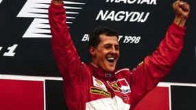 Schumacher: 10 anni in Rosso Ferrari