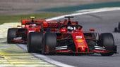 """Vettel, GP Brasile: """"Non so perché ci siamo toccati"""""""