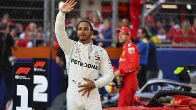 F1: Hamilton, l'effetto wow nelle qualifiche tra le due Ferrari