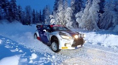 Bottas all'Arctic Lapland Rally: traversi sulle nevi finlandesi