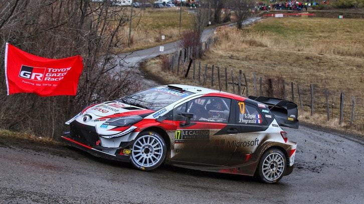 Rally Montecarlo 2020: Ogier in testa, incidente per Tanak