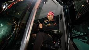Vettel e Leclerc, GP sulla neve