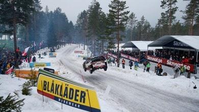 WRC, Rally Svezia: niente neve, tappa stravolta