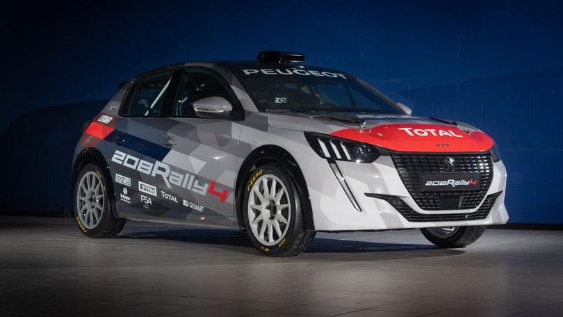 Peugeot 208 Rally 4 per Paolo e Anna