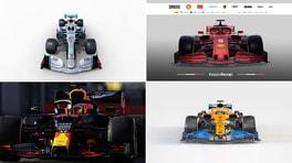 Formula 1, le monoposto 2020