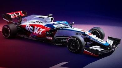 Williams FW43, presentata la monoposto 2020