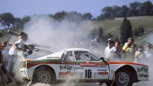 Lancia 037 - le foto dell'ultima due ruote motrici a vincere il mondiale Rally