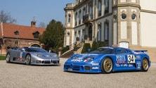 EB 110: le foto dell'unica Bugatti tutta Italiana