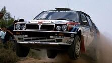 Lancia Delta Integrale: ultima  italiana a competere e vincere nel Mondiale Rally FOTO