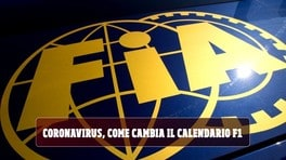 Coronavirus, come cambia il calendario F1 2020 VIDEO