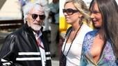 Tamara e Petra Ecclestone: papà Bernie allarga la famiglia con un fratellino FOTO
