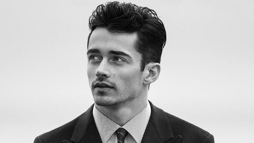 Leclerc si veste Armani: è lui il nuovo brand ambassador per la moda uomo FOTO