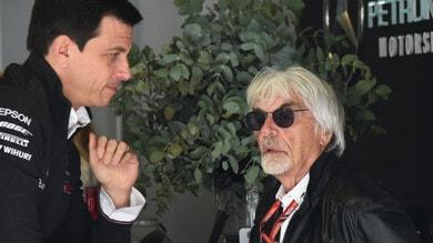 Vendita Williams, i ruoli di Bernie Ecclestone e Toto Wolff