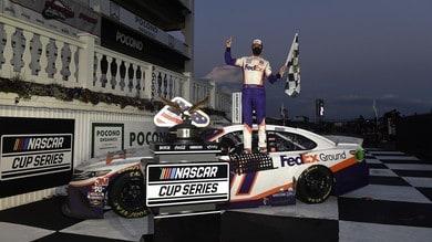 Rivincita di Denny Hamlin in gara 2 della Nascar a Pocono