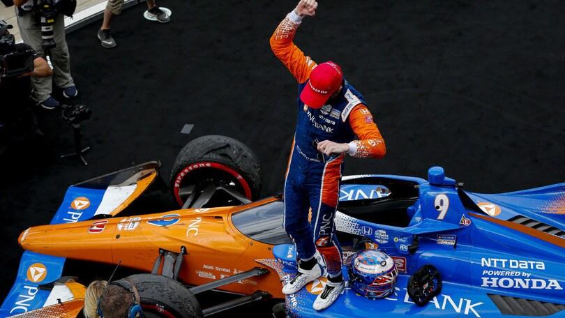IndyCar: Dixon vince anche a Indy e allunga