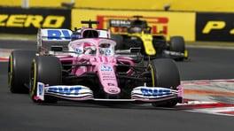 GP Ungheria, Renault presenta un secondo reclamo contro la Racing Point