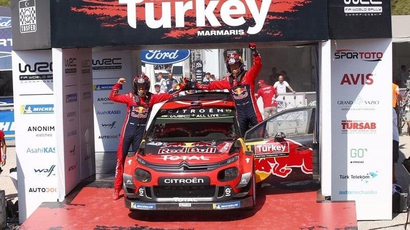WRC, la Turchia anticipa le date della sua tappa mondiale