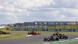GP Gran Bretagna, le foto della GARA