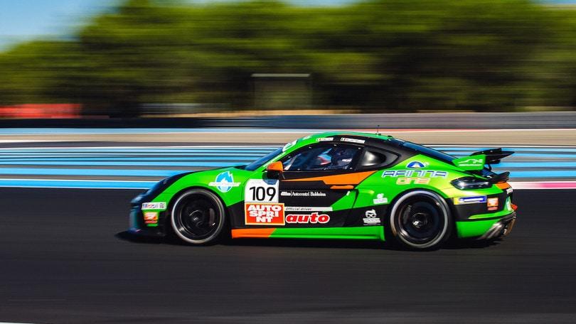 Fenici fa doppietta a Le Castellet nella Porsche Sports Cup Suisse