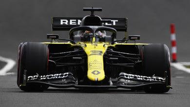 """Gp 70° anniversario, Ricciardo: """"Il mio un testacoda come Vettel"""""""