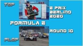 ePrix Berlino Round 10: Top e Flop della Formula E VIDEO