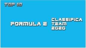 Formula E, classifica team 2019/2020