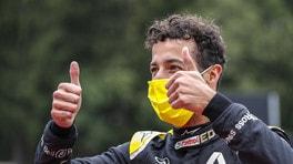 """Gp Belgio, Ricciardo: """"Un errore della Mercedes o Verstappen e sarei salito sul podio"""""""