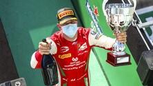 Formula 2, Gp Italia c'è uno Schumacher sul podio di Monza: che successo per Mick FOTO