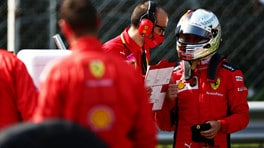 """Gp Italia, Vettel: """"E' stato meglio non avere pubblico"""""""
