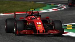"""Gp Italia, Leclerc: """"Chiesto troppo alla vettura? Sì, no, boh..."""""""