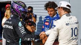 """Gp Italia, Hamilton: """"Non un gran lavoro, mi assumo le mie responsabilità"""""""