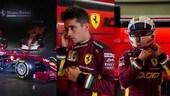 Gp Toscana, Ferrari si veste di amaranto per le 1000 gare FOTO